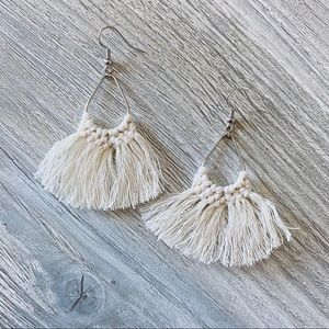 Jewelry - Macrame Statement Earrings